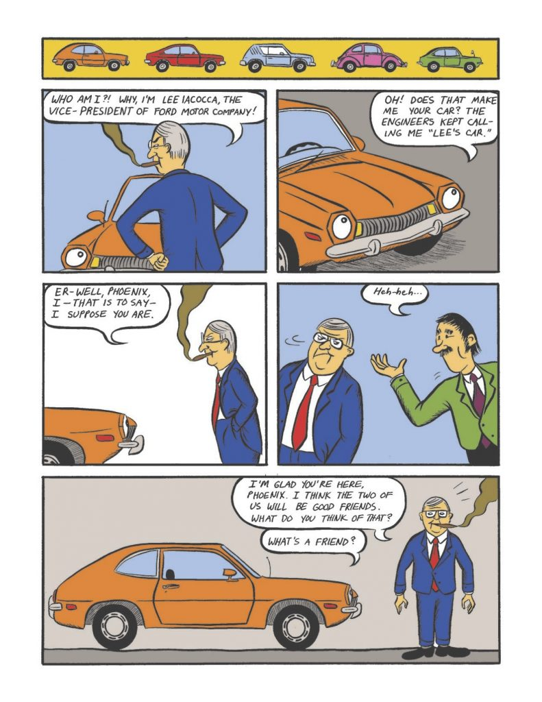 """Iacocca and the Pinto talk. Throughout its development, the Pinto is referred to as """"Lee's car."""""""